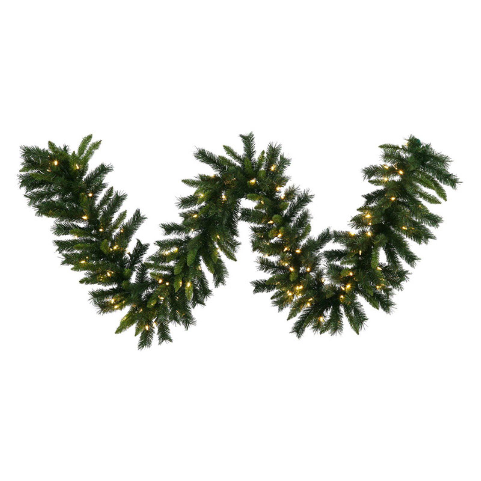 Vickerman Imperial Pine Pre-Lit LED Garland - Warm White Italian Lights