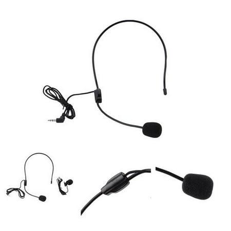 Headset Microphone, Flexible Wired Boom (Standard 3.5mm