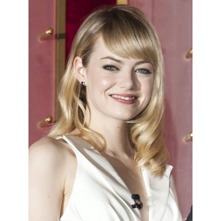 Emma Stone At The Press Conference For The 85Th Annual Academy Awards Oscars 2013 Nominations Announcement Canvas Art     16 X 20