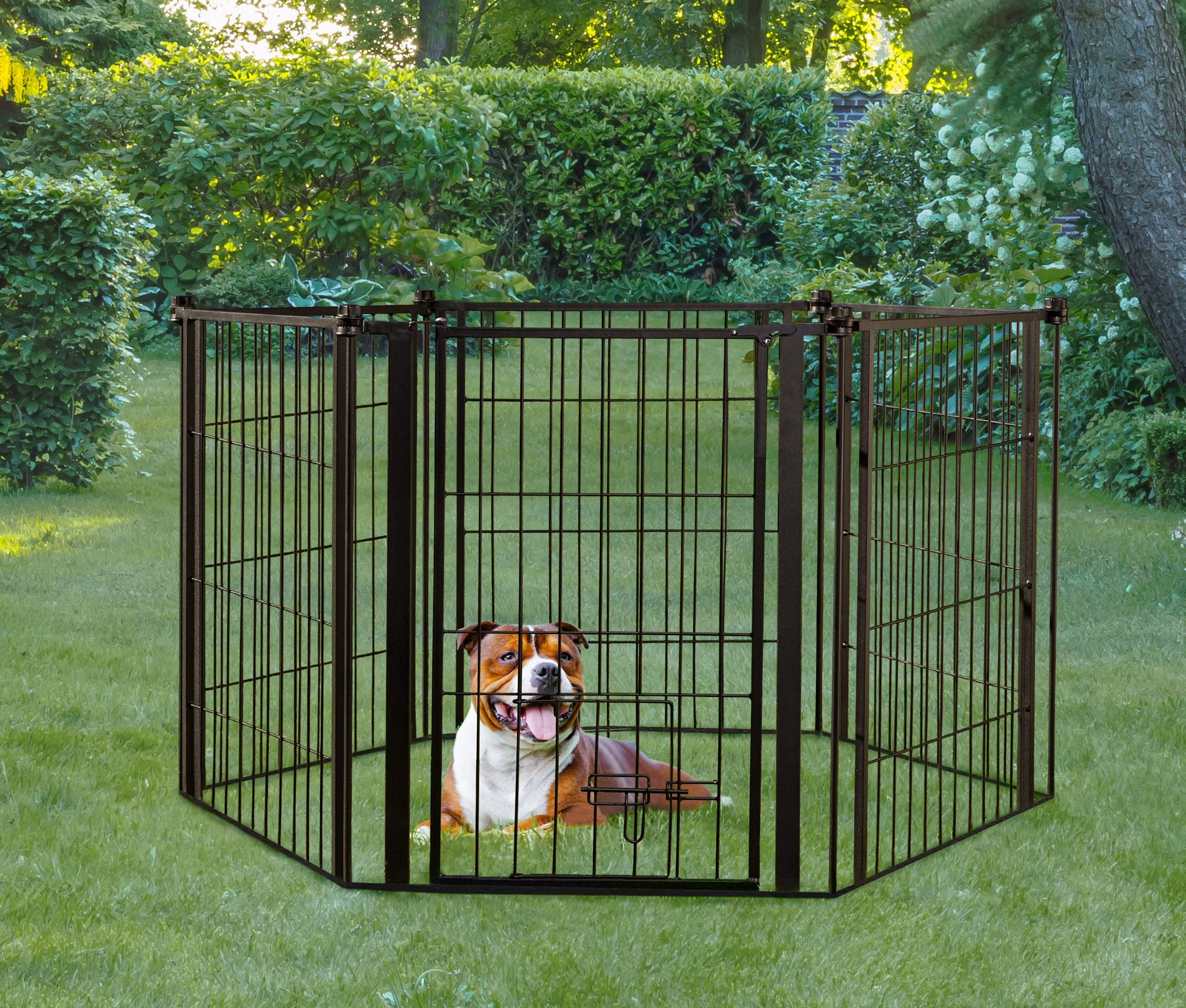Carlson 144 Inch Super Wide Heavy Duty Gate And Pet Pen Includes