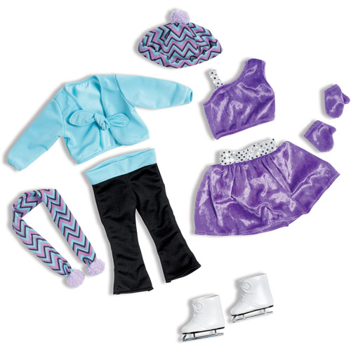 """My Life As Ice Skating 18"""" Doll Clothing Accessory Set"""