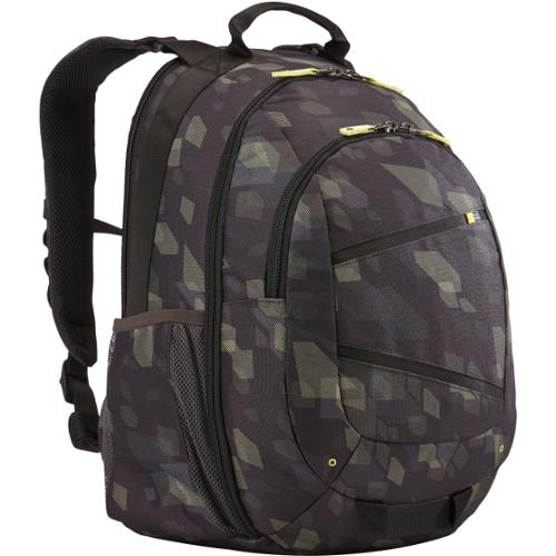 """Case Logic Berkeley II Carrying Case (Backpack) for 16"""" Notebook - Yellow, Gray, Black - Polyester - Carbide - Shoulder"""