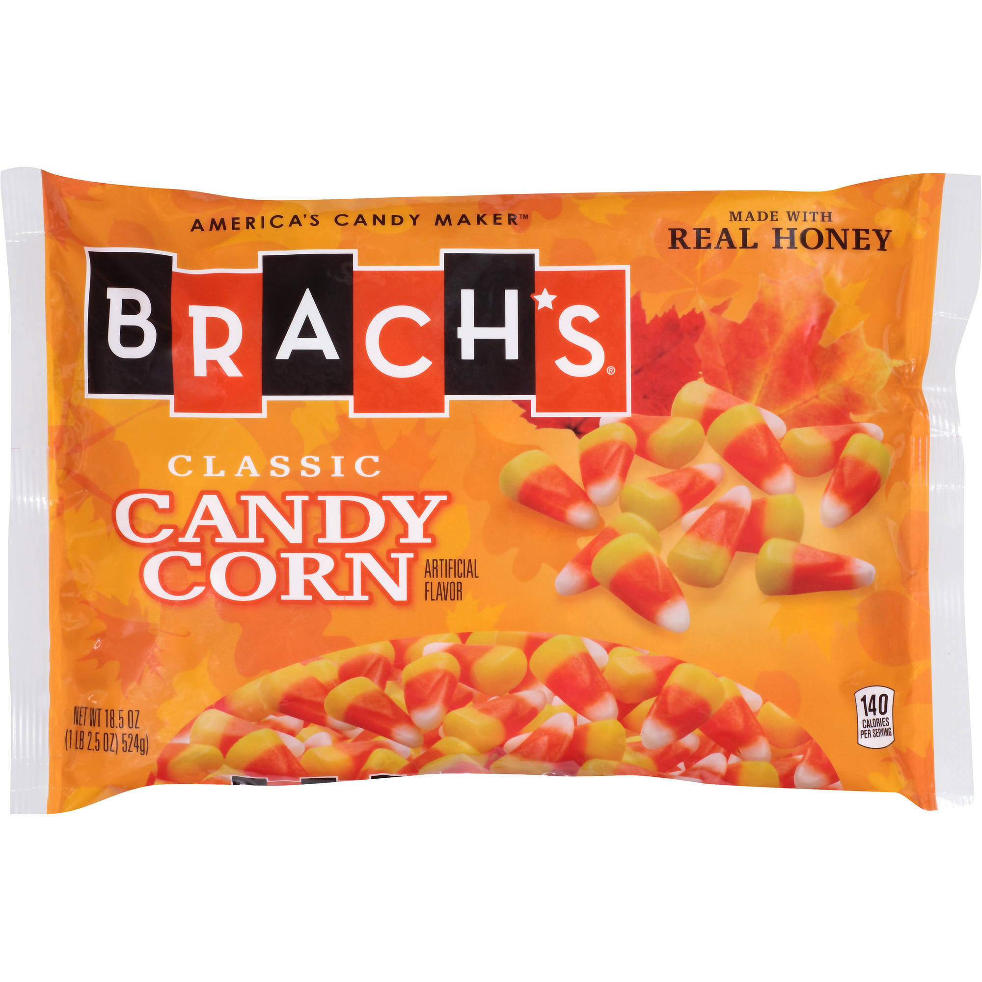 how many servings in a bag of candy corn