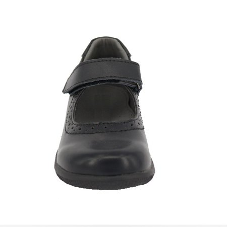 Happystep? Genuine Leather Toddler Little Girl Mary Jane School Uniform Formal Dress Shoes - Black (1 Pair) - image 5 of 6