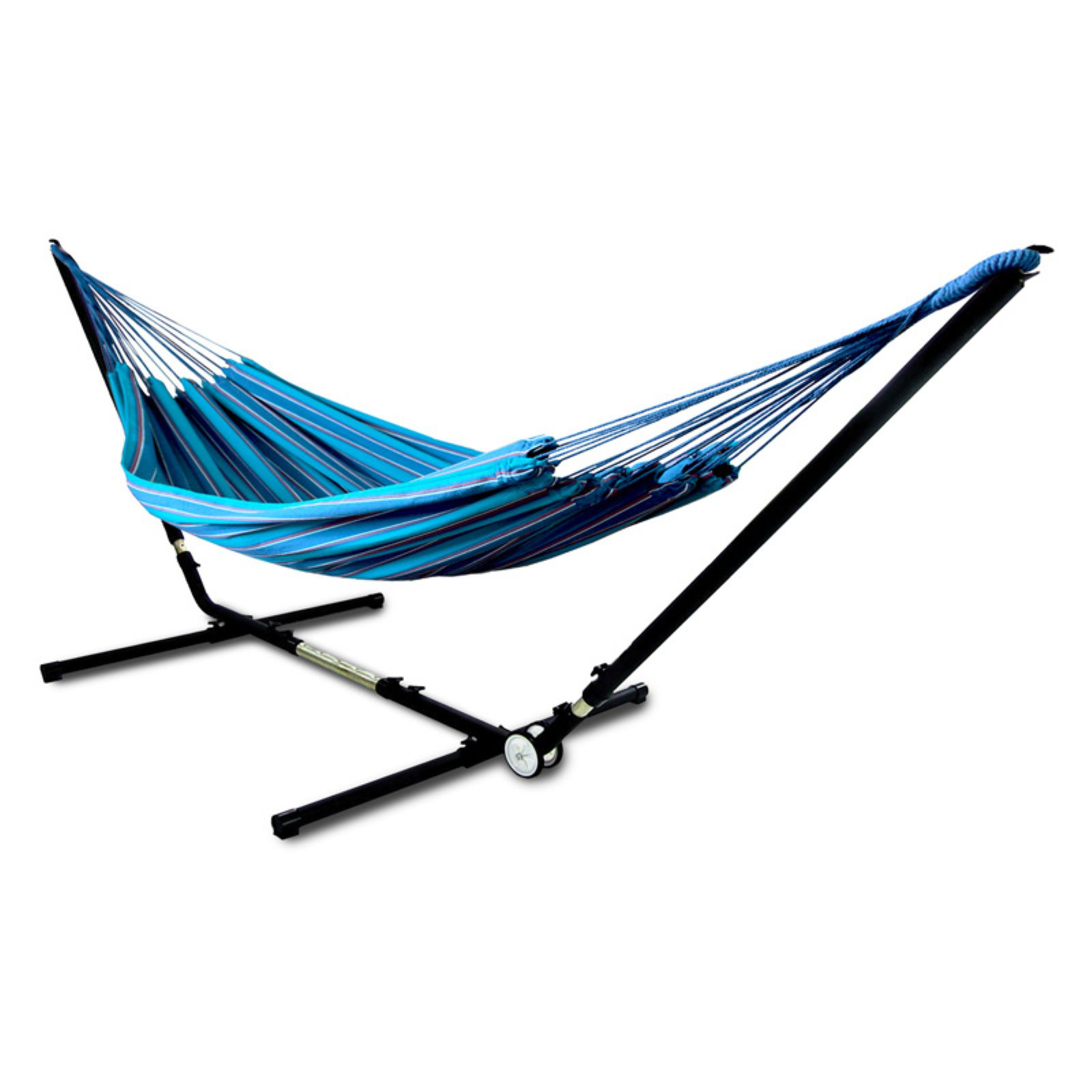 Hammaka Brazilian Two Person Hammock with Adjust to Fit Stand