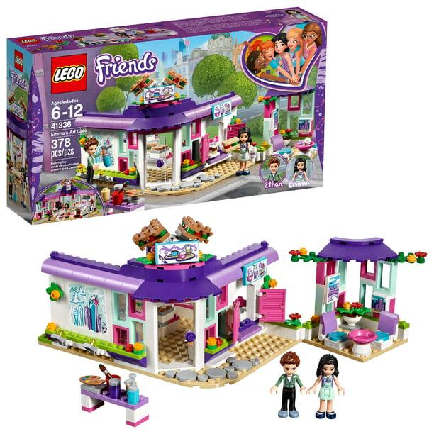 Lego Friends Emma S Art Cafe 41336 Building Set 378 Pieces Walmart Com Walmart Com