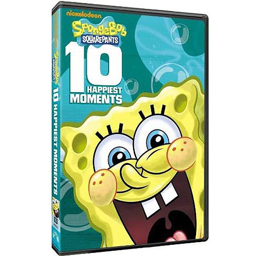SPONGEBOB SQUAREPANTS 10 HAPPIEST MOMENTS (DVD)