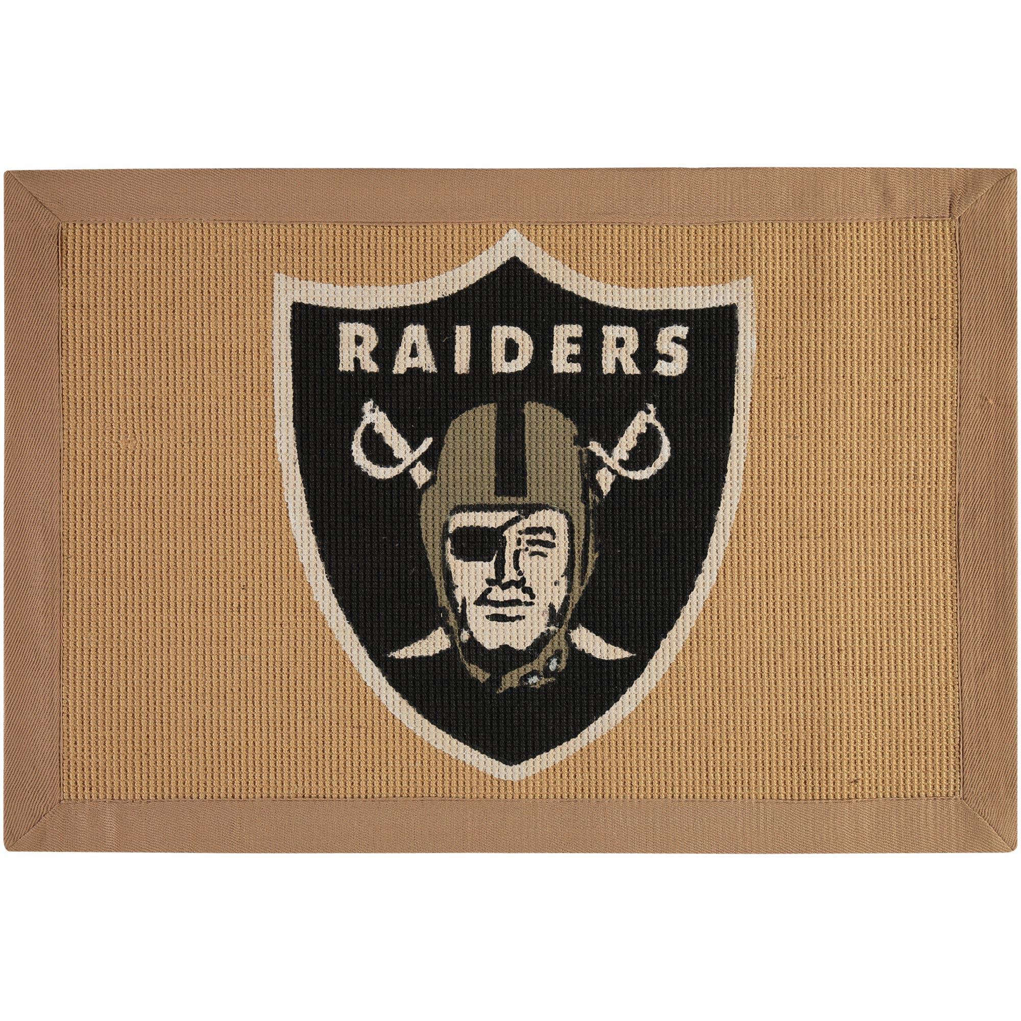 Oakland Raiders Jute Rug - No Size