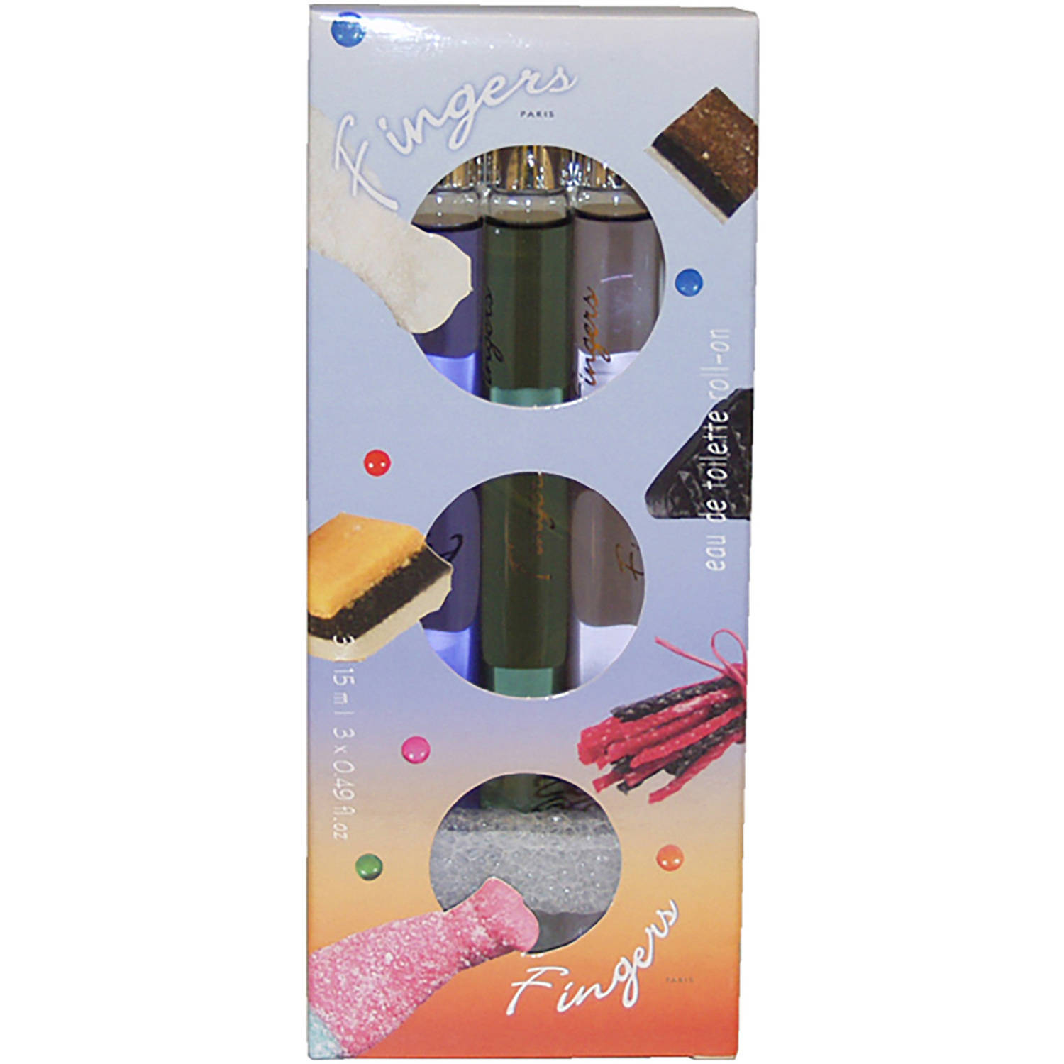 Fingers Candies Coll. by Fingers for Men, 3x15 ml