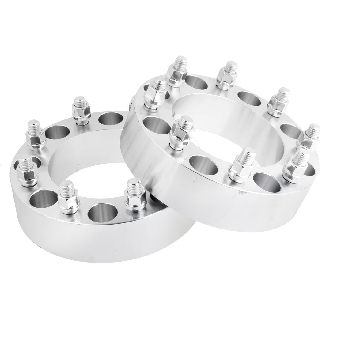 "2pcs 2.0"" Thickness Wheel Spacers 8x6.7"" Adapters 8 Lug 14x2.0mm Studs for Ford"