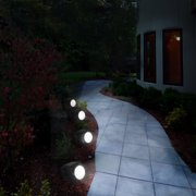 Pure Garden Solar Ed Rock Led Spotlight S 4 Image Of 6