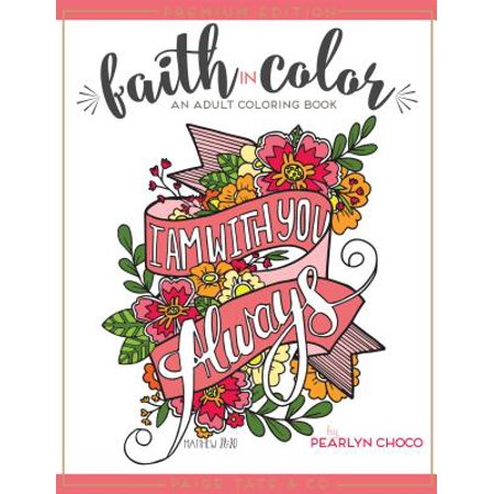 Faith in Color : An Adult Coloring Book](Treasure Chest Coloring Page)