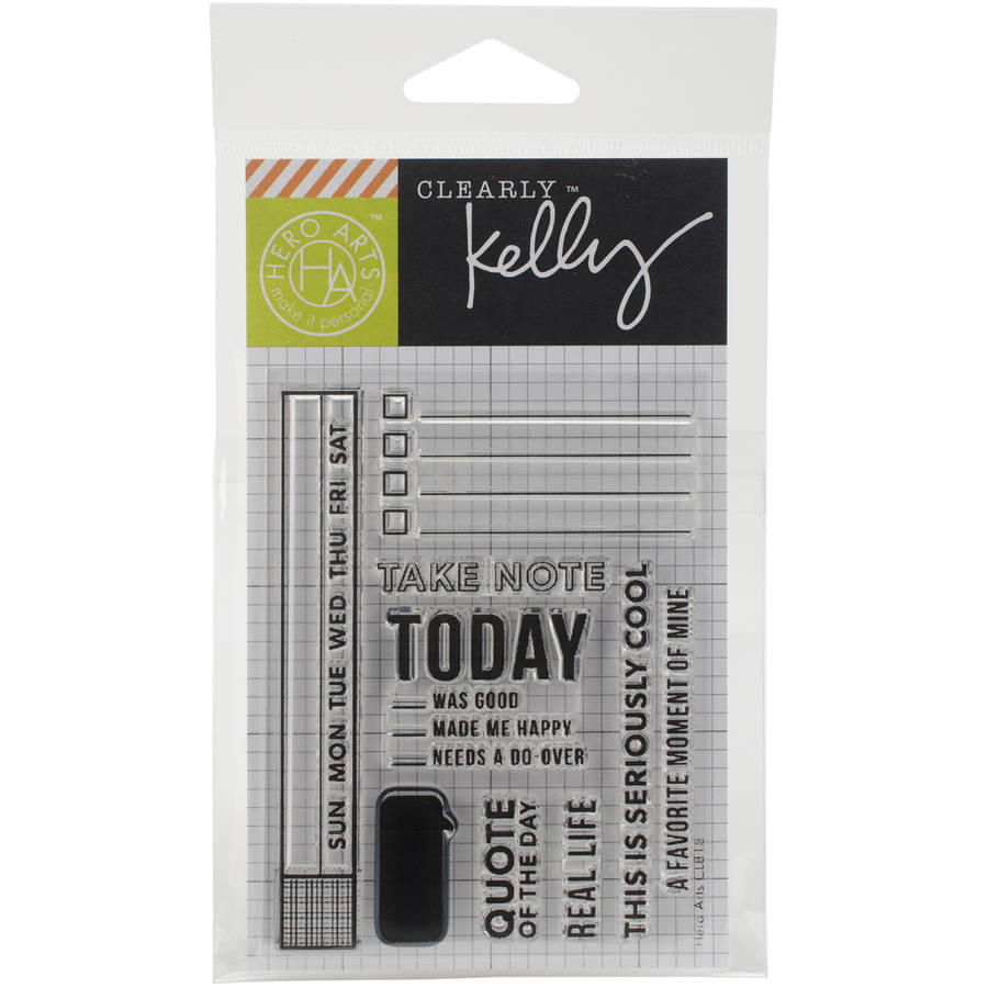 "Kelly Purkey Clear Stamps, 3"" x 4"" Sheet"