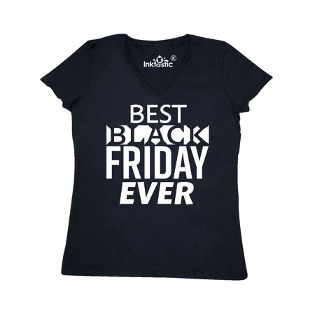 Best Black Friday ever Women's V-Neck T-Shirt