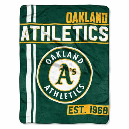 "MLB Oakland Athletics ""Walk Off"" 46""x 60"" Micro Raschel -"