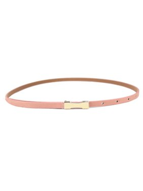 4e34824af Product Image New Women Lady Fashion Metal Fhin Gold Buckle Skinny PU  Leather Waistband Belt