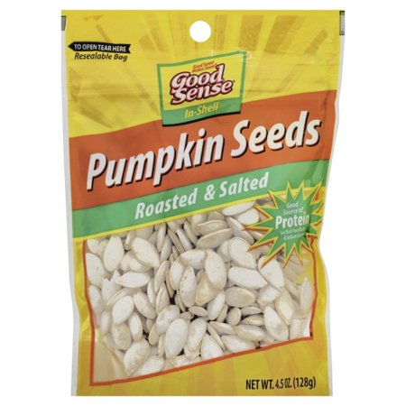 Good Sense Roasted & Salted Pumpkin Seeds, 4.5 Oz.](Roasted Pumpkin Seeds Halloween)