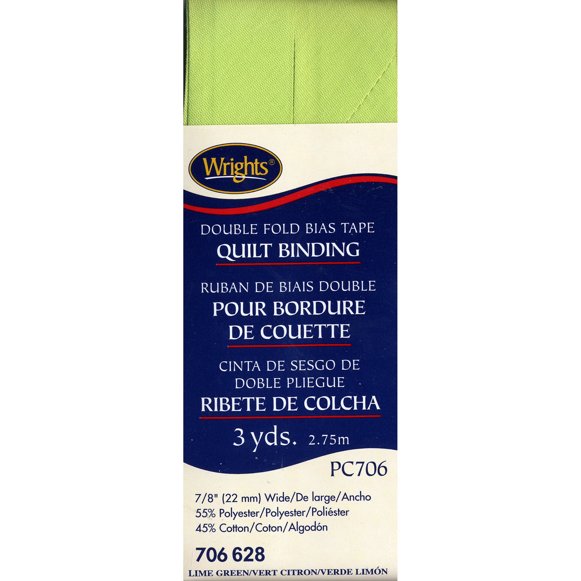 Lime Green Quilt Binding