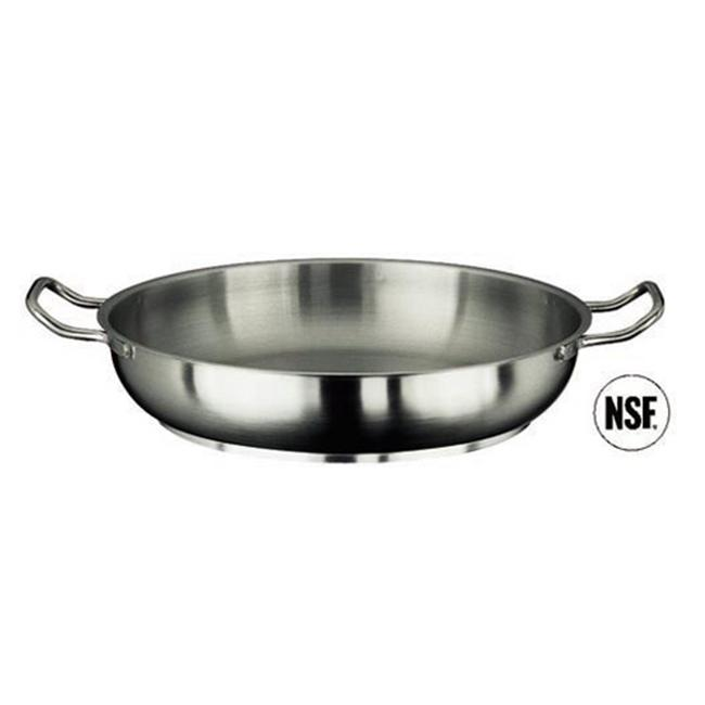Paderno World Cuisine 11115-24 Paella Pan  Stainless Steel