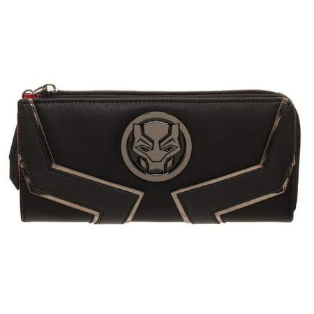 Black Panther Zip Around Wallet
