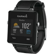 "Garmin Vivoactive Smartwatch GPS / Activity Tracker / Pedometer / Sleep Monitor with Phone Notifications, Black (fits wrists 5.35-9.25"")"