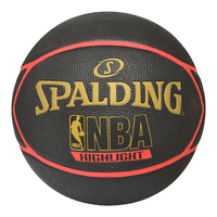 """Spalding Highlight Red basketball Rubber size 29.5"""""""