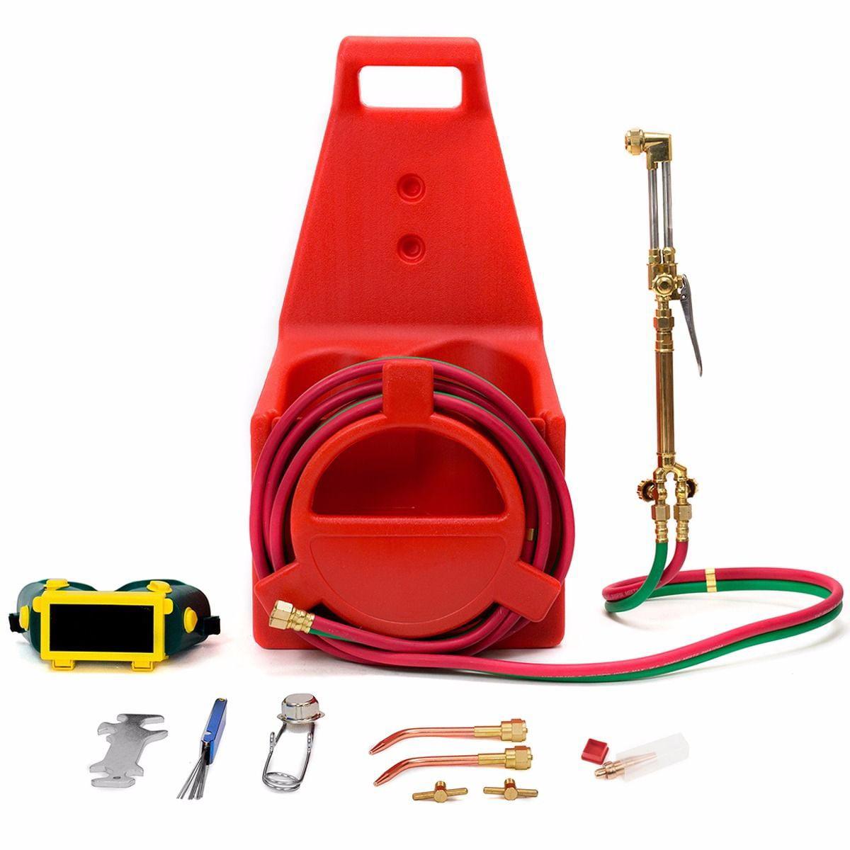 GHP Portable Victor Oxygen Acetylene Welding Cutting Torc...