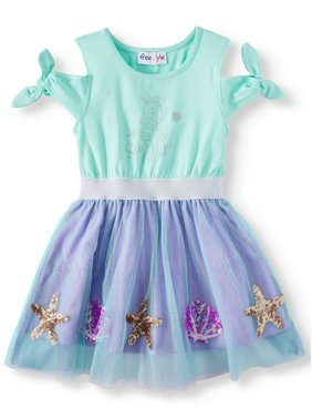 70c87fed4a3 Product Image Cold Shoulder Tutu Dress (Little Girls   Big Girls)