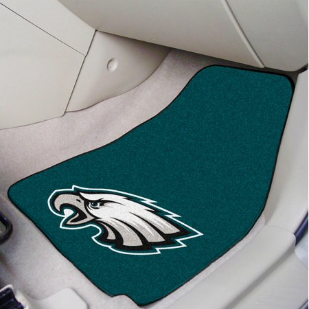 Philadelphia Eagles 2-pc Carpeted Car Mats 17