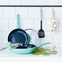 Deals on GreenLife Diamond Ceramic Non-Stick 8-Piece Cookware Set