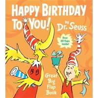 Happy Birthday to You Great Big Flap Boo (Board Book)