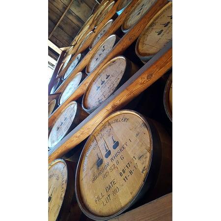 LAMINATED POSTER Bourbon Distillery Whiskey Kentucky Barrels Poster Print 24 x
