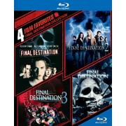 4 Film Favorites: Final Destination 1-4 (Blu-ray) (Final Destination Halloween)