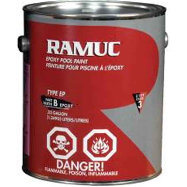 Republic Powered Metals 560877 Ramuc Epoxy Pool Paint Dawn Blue 1 Gallon