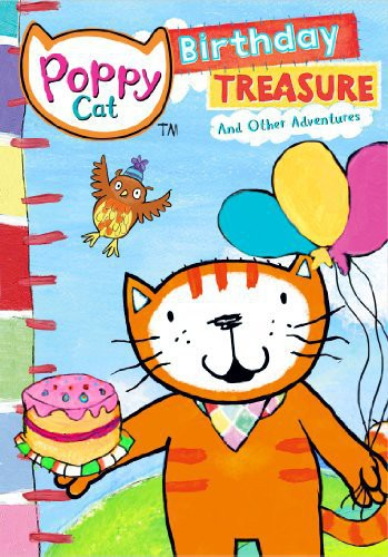 Poppy Cat: Birthday Treasure and Other Adventures by