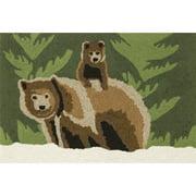 Trans-Ocean Rug Frontporch Bear Family Doormat