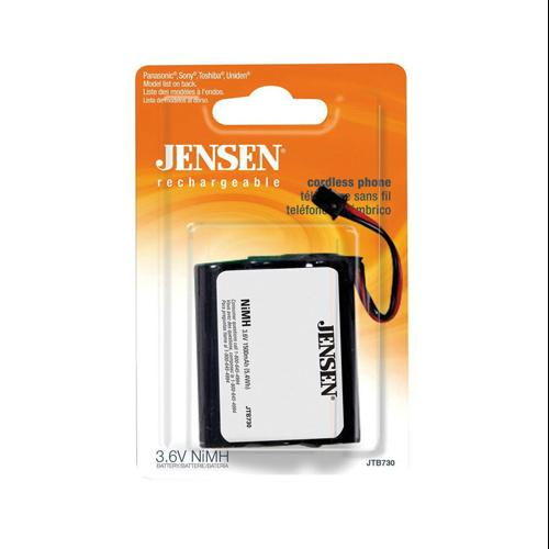Audiovox Accessories JTB730 Jensen Ni-MH Cordless Phone Battery-PHONE BATTERY