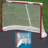 EZ Goal Portable Folding Regulation Size Street Ice Hockey Training Goal Net