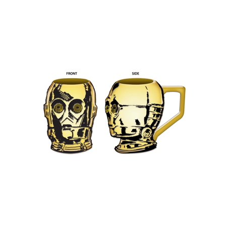 Star Wars C3PO Sculpted Mug](C 3 Po)