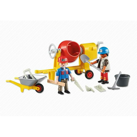 Playmobil Add-On Series - 2 Construction Workers - Village People Construction Worker