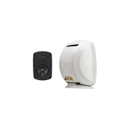 "russound 5b65w 6.5"" indoor outdoor speakers, white"