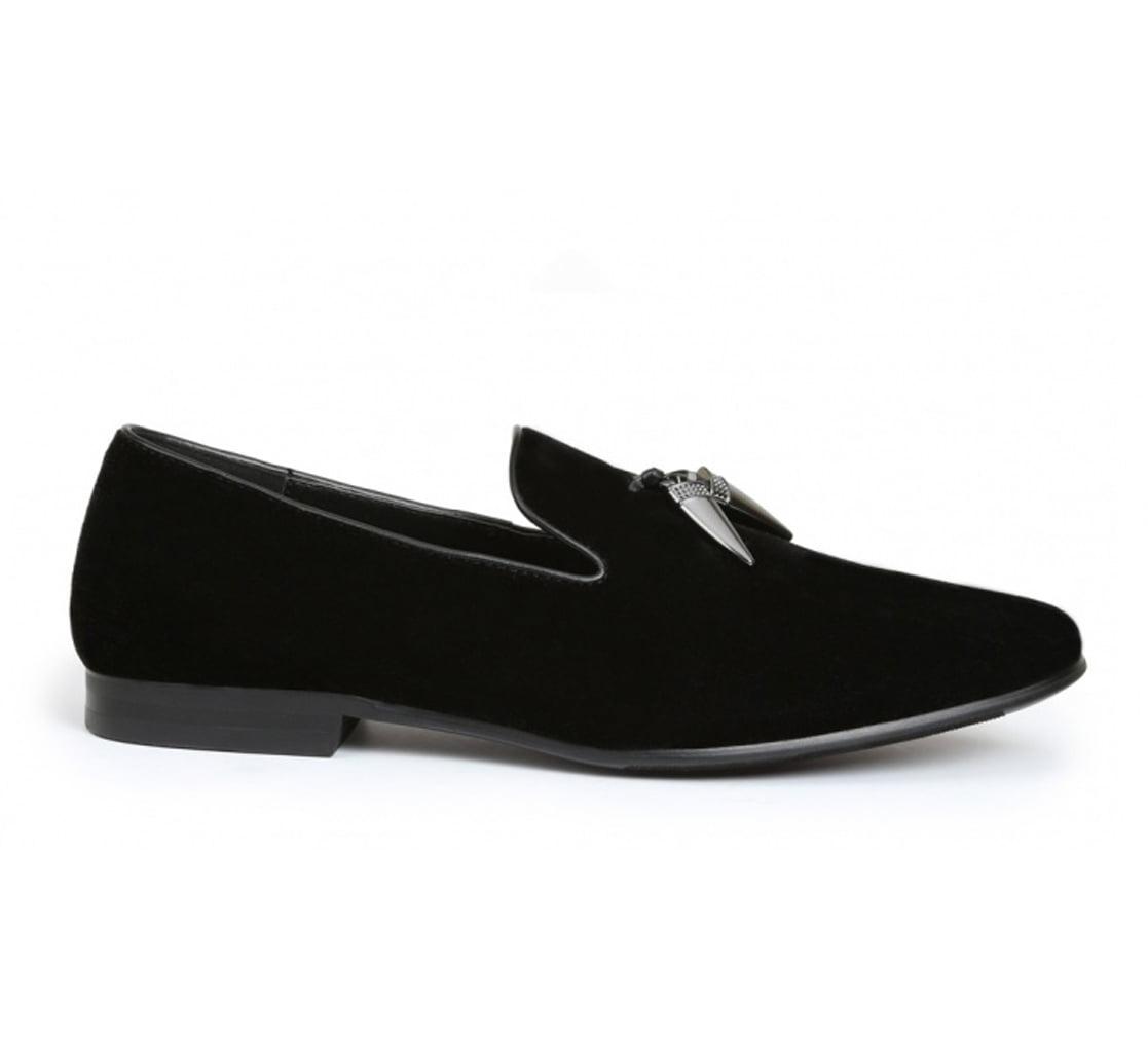 Giorgio Brutini Cowell Men's Dress Shoes Slip-On Velvet Loafers by Harbor Footwear
