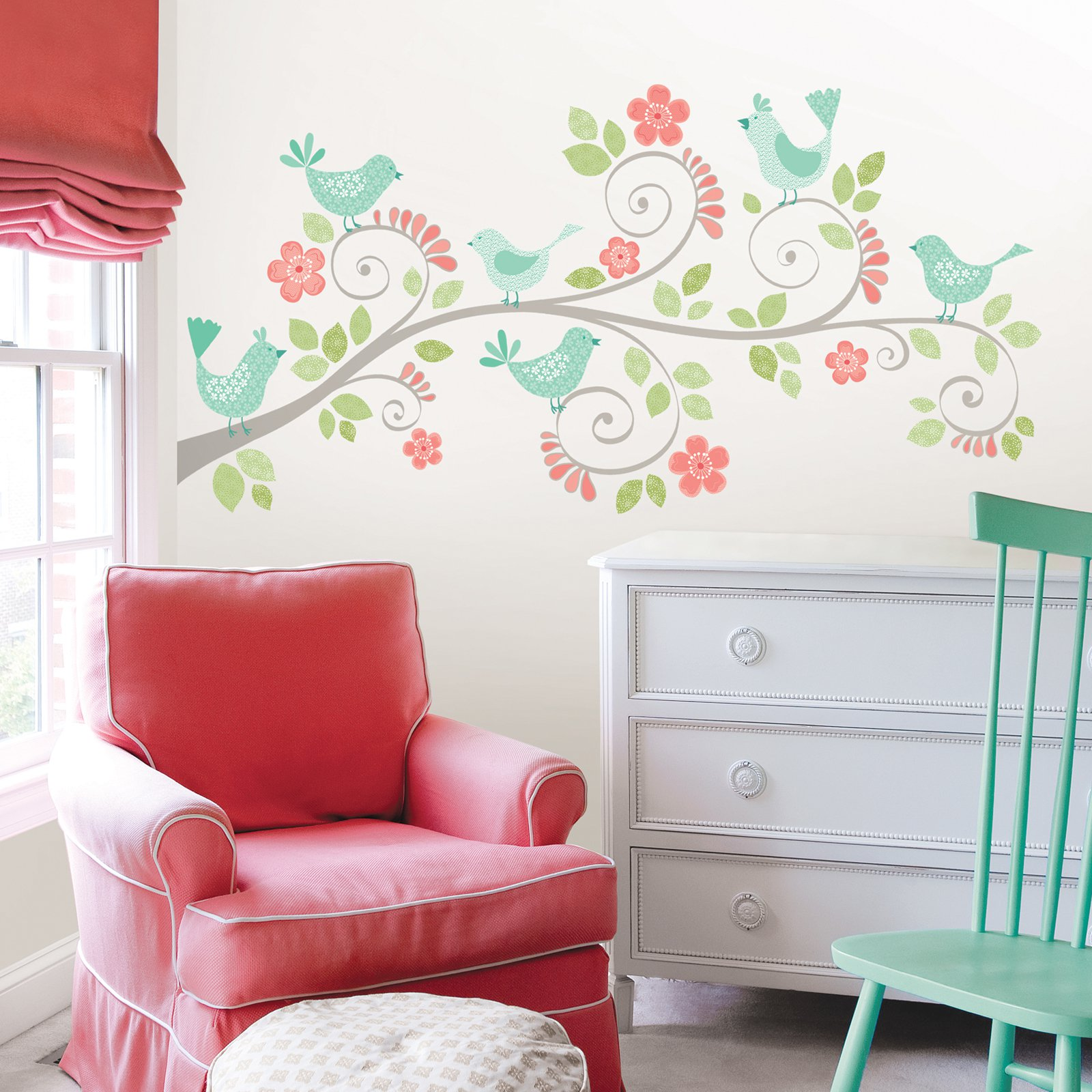 WallPops Pretty Tweet Wall Art Kit