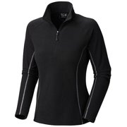 Mountain Hardwear Women Microchill Zip T-Shirt
