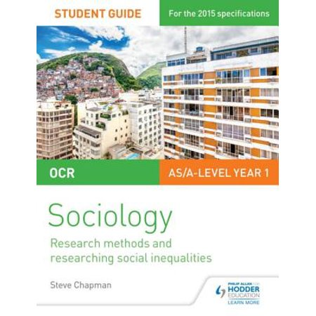 OCR A Level Sociology Student Guide 2: Researching and understanding social inequalities -