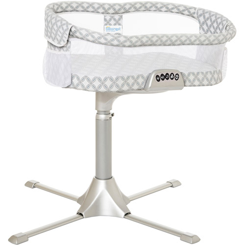 HALO Innovations Bassinest Swivel Sleeper, Premiere, Silver Harmony Circles by HALO