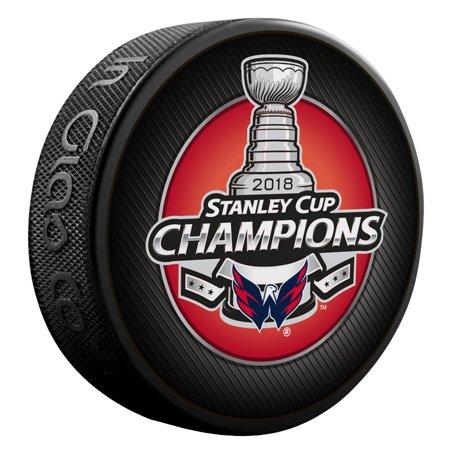 Washington Capitals Sher-Wood 2018 Stanley Cup Champions Logo Puck - No Size 24adb6b57fe