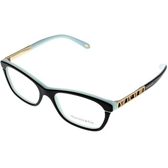 ecee6ee1a899 Tiffany   Co. Women Eyeglasses Designer Black Blue Rectangular TF2102 8055  Size  Lens  Bridge  Temple  54-16-140 - Walmart.com