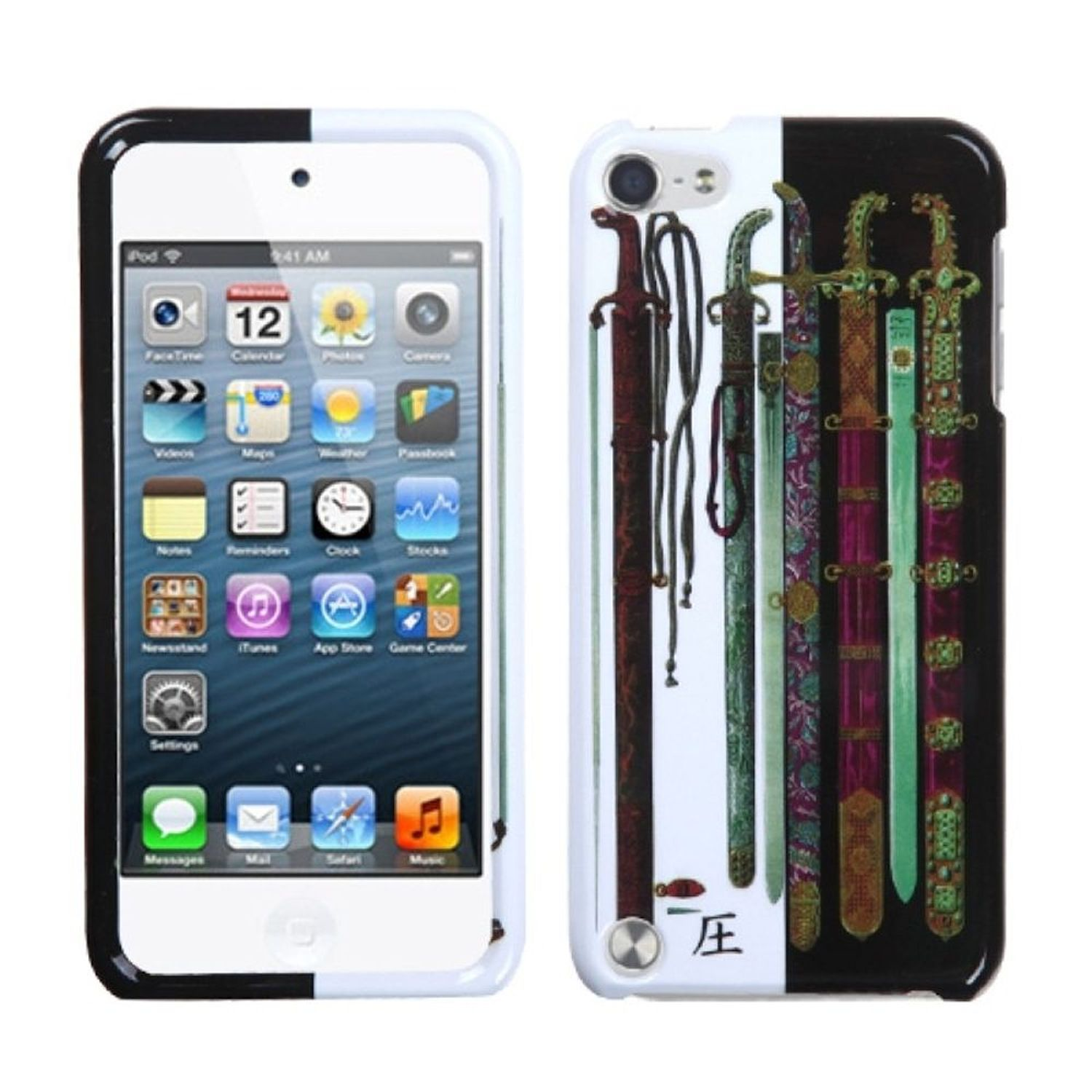 Insten Ancient Swords Phone Protector Cover Case For iPod Touch 6 6th 5 5th Gen