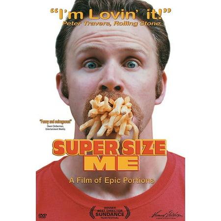 Super Size Me (DVD) - Plus Size Movie